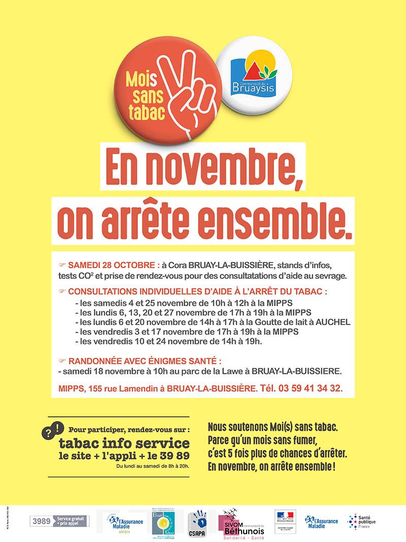 affiche MIPPS du sivom de la communauté du bruaysis