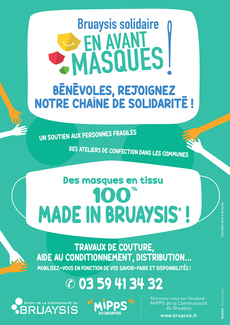 masques flyer recto