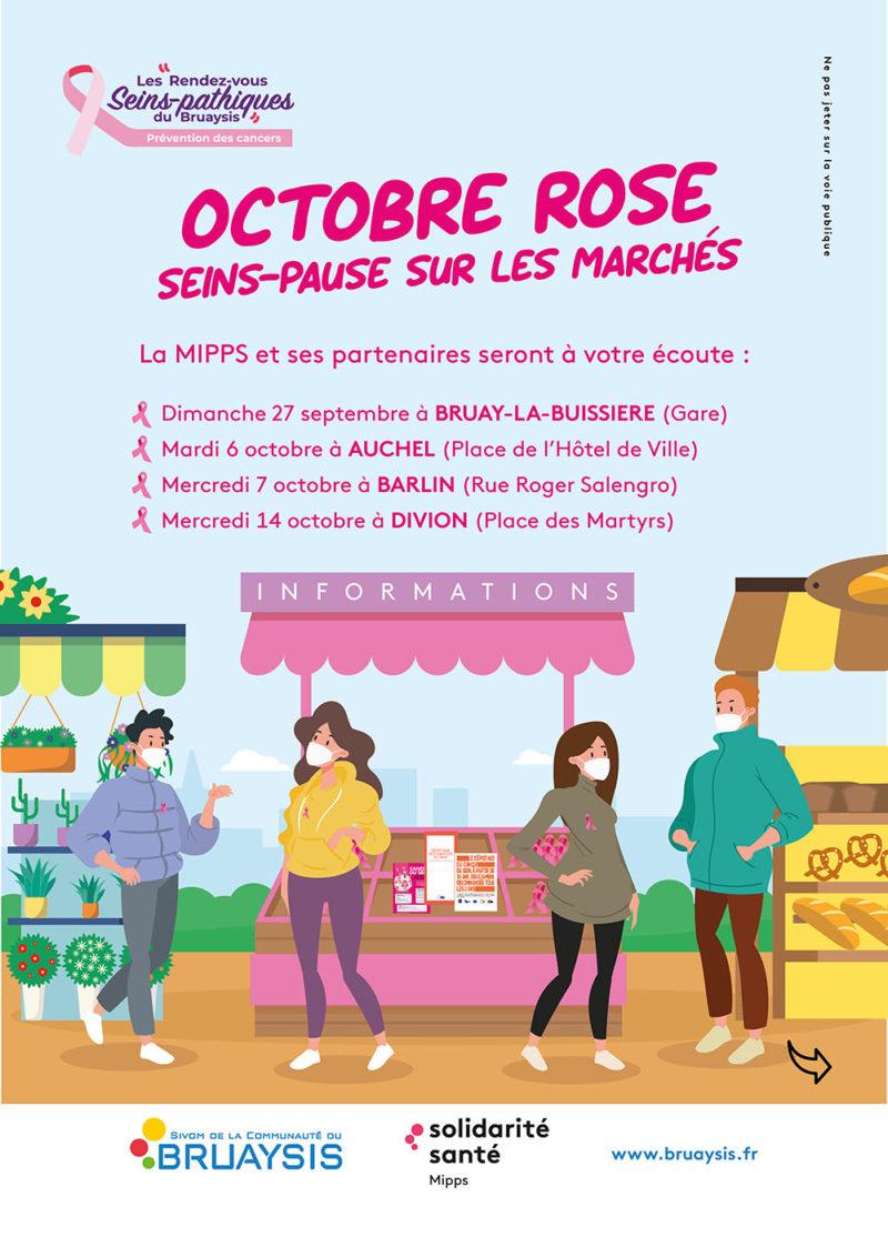 mipps octobre rose marchés